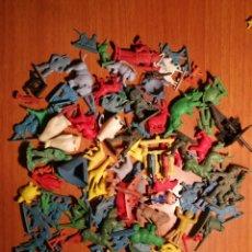 Figuras de Goma y PVC: LOTE MUÑECOS PVC DE LOS 70 O 80. Lote 176567384