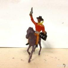 Figuras de Goma y PVC: FIGURA VAQUERO COMANSI LADRON COWBOY VAQUERO OESTE WESTERN. Lote 176611228