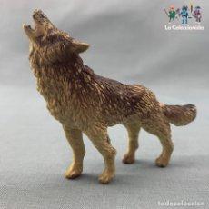 Figuras de Goma y PVC: FIGURA LOBO - MINILAND. Lote 213742456
