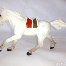 Figuras de Goma y PVC: FIGURA PAPO OESTE CABALLO INDIO AÑO 1999. Lote 176671557