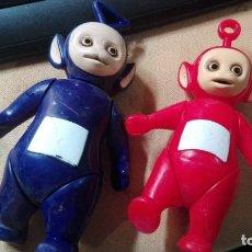 Figuras de Goma y PVC: PAREJA DE TELE TUBBIES. Lote 176675639