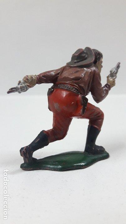Figuras de Goma y PVC: VAQUERO - COWBOY . REALIZADO POR TEIXIDO . AÑOS 50 EN GOMA - Foto 3 - 176679312