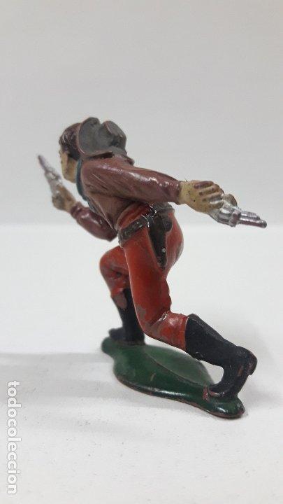 Figuras de Goma y PVC: VAQUERO - COWBOY . REALIZADO POR TEIXIDO . AÑOS 50 EN GOMA - Foto 4 - 176679312