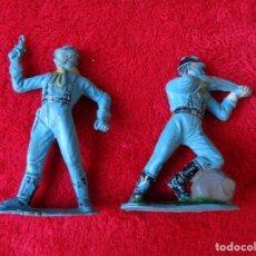 Figuras de Goma y PVC: COMANSI --- 2 SOLDADOS 7 DE CABALLERÍA. Lote 176690995