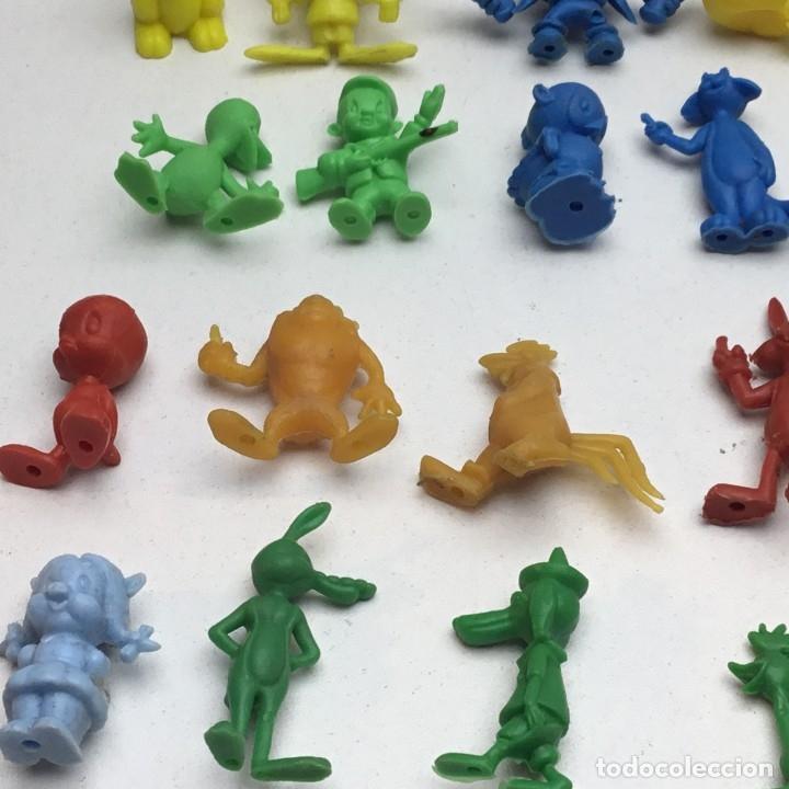 Figuras de Goma y PVC: COLECCIÓN COMPLETA - 20 FIGURAS PROMOCIONALES DUNKIN - WARNER - PASTELITOS ORTIZ - AÑOS 70 - Foto 5 - 176749819