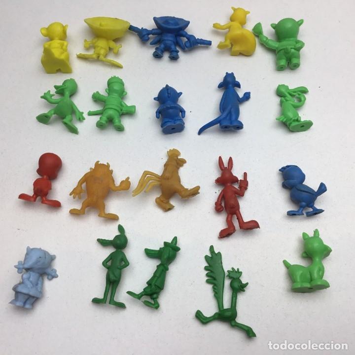 Figuras de Goma y PVC: COLECCIÓN COMPLETA - 20 FIGURAS PROMOCIONALES DUNKIN - WARNER - PASTELITOS ORTIZ - AÑOS 70 - Foto 6 - 176749819