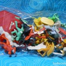 Figurines en Caoutchouc et PVC: LOTE DE INDIOS Y VAQUEROS, SIN ESTRENAR. Lote 176815269