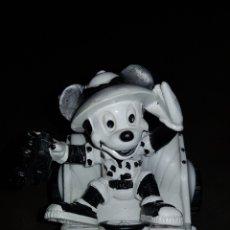 Figuras de Goma y PVC: FIGURA GOMA MICKEY MOUSE DE SAFARI PVC BULLY GERMANY 1981 UNITED FEATURE SYNDICATE W.GERMANY. Lote 176853190