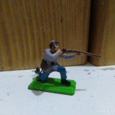 Figuras de Goma y PVC: SOLDADO SUDISTA BRITAIN'S DEETAIL CIVIL WAR JINETE CONFEDERADO. Lote 176882418