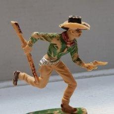 Figuras de Goma y PVC: FIGURA COMANSI-COWBOY CORRIENDO-ESCASO . Lote 176915529