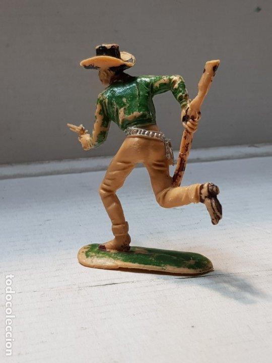 Figuras de Goma y PVC: Figura Comansi-Cowboy Corriendo-escaso - Foto 2 - 176915529