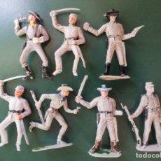 Figuras de Goma y PVC: LOTE DE 7 FIGURAS PLASTICO ,COMANSI ,REAMSA,JECSAN,PECH. Lote 176919710
