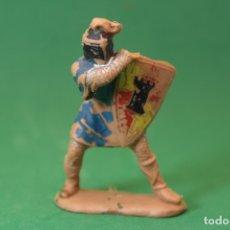 Figuras de Goma y PVC: ANTIGUA FIGURA EN PLÁSTICO DE REAMSA. SERIE CABALLEROS DEL REY ARTURO. DEFECTUOSA. Lote 176963759