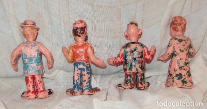 Figuras de Goma y PVC: 4 PAYASOS DE ESTEREOPLAST,HERTA FRANKEL,AÑOS 60 - Foto 2 - 177024993