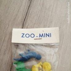 Figuras de Goma y PVC: ANTIGUA BOLSA MINI ZOO. Lote 177037174