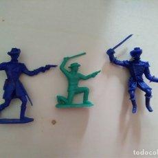 Figuras de Goma y PVC: LOTE ANTIGUAS FIGURAS DEL OESTE COMANSI. Lote 177038742