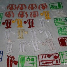Figuras de Goma y PVC: MONTAPLEX- COLADAS DE TOMAN-MAN-COLECCION COMPLETA-AÑOS 80. Lote 177067044