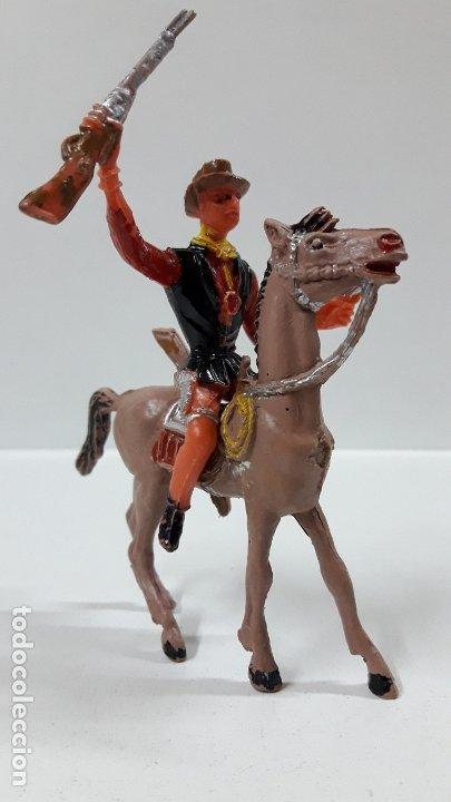 Figuras de Goma y PVC: CANNON PARA CABALLO - EL GRAN CHAPARRAL. REALIZADO POR COMANSI . AÑOS 70 . CABALLO NO INCLUIDO - Foto 2 - 177139378