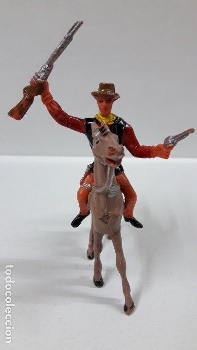 Figuras de Goma y PVC: CANNON PARA CABALLO - EL GRAN CHAPARRAL. REALIZADO POR COMANSI . AÑOS 70 . CABALLO NO INCLUIDO - Foto 3 - 177139378