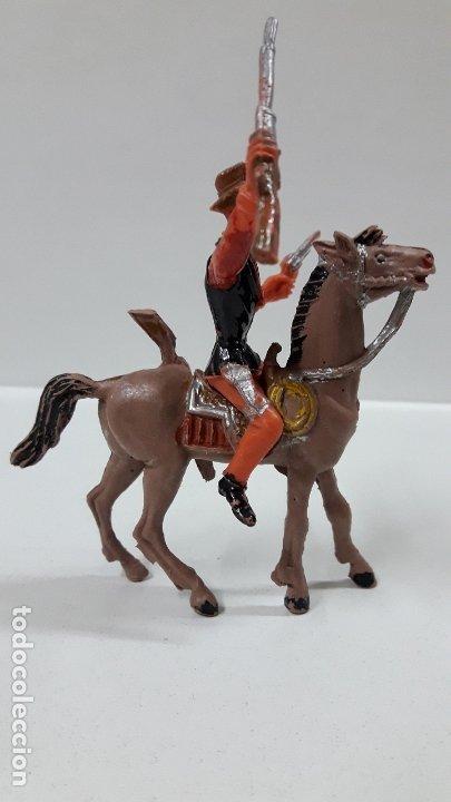 Figuras de Goma y PVC: CANNON PARA CABALLO - EL GRAN CHAPARRAL. REALIZADO POR COMANSI . AÑOS 70 . CABALLO NO INCLUIDO - Foto 5 - 177139378