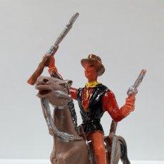 Figuras de Goma y PVC: CANNON PARA CABALLO - EL GRAN CHAPARRAL. REALIZADO POR COMANSI . AÑOS 70 . CABALLO NO INCLUIDO. Lote 177139378