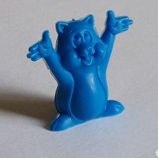 Figuras de Goma y PVC: FIGURA SELLADA MM-C EN LA BASE, FABRICADA EN PLÁSTICO, DUNKIN O SIMILAR, ORIGINAL AÑOS 80.. Lote 177176564