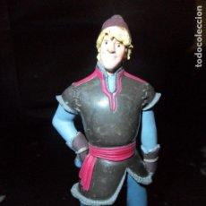 Figuras de Goma y PVC: KRISTOFF - FROZEN - FIGURA PVC BULLY - DISNEY -. Lote 177180578