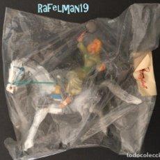 Figuras de Goma y PVC: ESTEREOPLAST - SIGRID A CABALLO - IMPECABLE A ESTRENAR. Lote 177184104