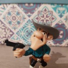 Figuras de Goma y PVC: FIGURA PVC O GOMA DURA SERIE LUCKY LUKE HERMANO DALTON PEQUEÑO PLASTOY 1997. Lote 177200548