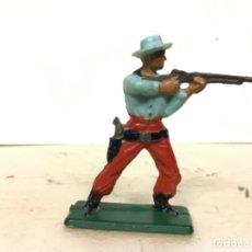 Figuras de Goma y PVC: FIGURA VAQUERO STARLUX COWBOY NO PECH REAMSA JECSAN COMANSI. Lote 177215075
