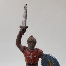 Figuras de Goma y PVC: GUERRERO MEDIEVAL . FIGURA REAMSA Nº 133 . SERIE CABALLEROS CRUZADOS . AÑOS 50 EN GOMA. Lote 177255784
