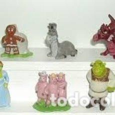 Figuras Kinder: COLECCIÓN COMPLETA FIGURAS KINDER, SHREK III.. Lote 177294014
