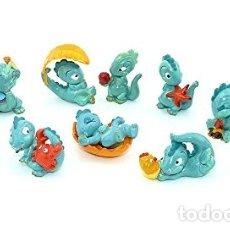 Figuras Kinder: COLECCION COMPLETA FIGURAS KINDER - DROLLY DINOS, AÑO 1993.. Lote 177295147