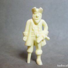 Figuras de Goma y PVC: FIGURA DUNKIN DE PIRATAS Y BUCANEROS DE ARIEL - PATAPALO - TITO - COLOR CREMA. Lote 177305134