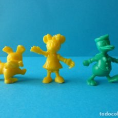 Figuras de Goma y PVC: PERSONAJES DE DISNEY - PATO DONALD, MINNIE MOUSE Y GOLFITO - FIGURAS DUNKIN. Lote 177381142