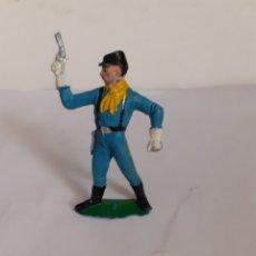 Figuras de Goma y PVC: JECSAN SOLDADO YANKEE NORDISTA PLASTICO. Lote 177383999