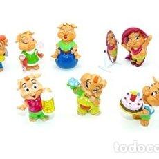 Figuras Kinder: COLECCION COMPLETA DE FIGURAS KINDER, CERDITOS EN LA FIESTA, CERDITOS PARTY. PINKY PIGGYS.. Lote 177407613