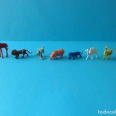Figuras de Goma y PVC: VARIADO LOTE DE ANIMALES SALVAJES - FIGURAS DE KIOSKO ESTILO DUNKIN, PIPERO O SIMILAR. Lote 177421378