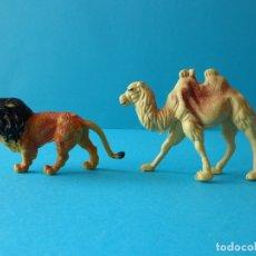 Figuras de Goma y PVC: ANIMALES SALVAJES PARA CIRCO O OTROS DIORAMAS. POSIBLEMENTE DE LOS AÑOS 70. Lote 177423560