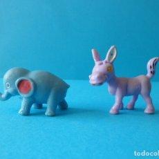 Figuras de Goma y PVC: ANIMALES INFANTILES MADE IN HONG KONG - JUGUETES VINTAGE. Lote 177423872