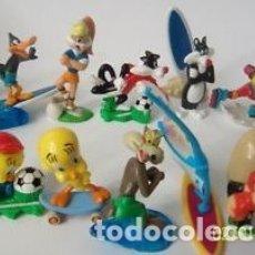 Figuras Kinder: COLECCION COMPLETA DE FIGURAS KINDER, LOONEY TUNES SPORTS, AÑO 2007.. Lote 177494203