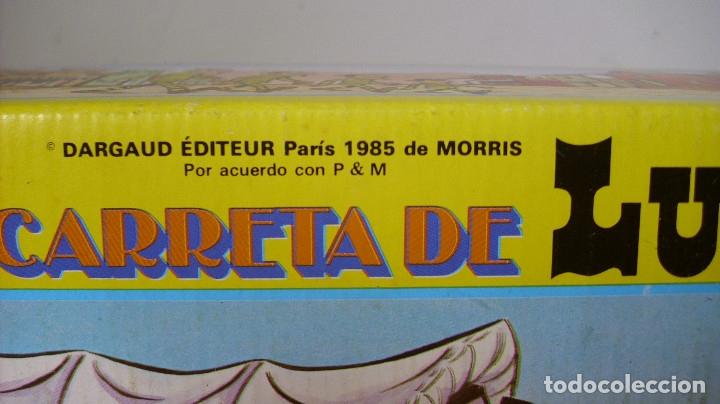 Figuras de Goma y PVC: ANTIGUA CARRETA DE LUCKY LUKE DE COMANSI EN CAJA 1985 - Foto 7 - 177496115