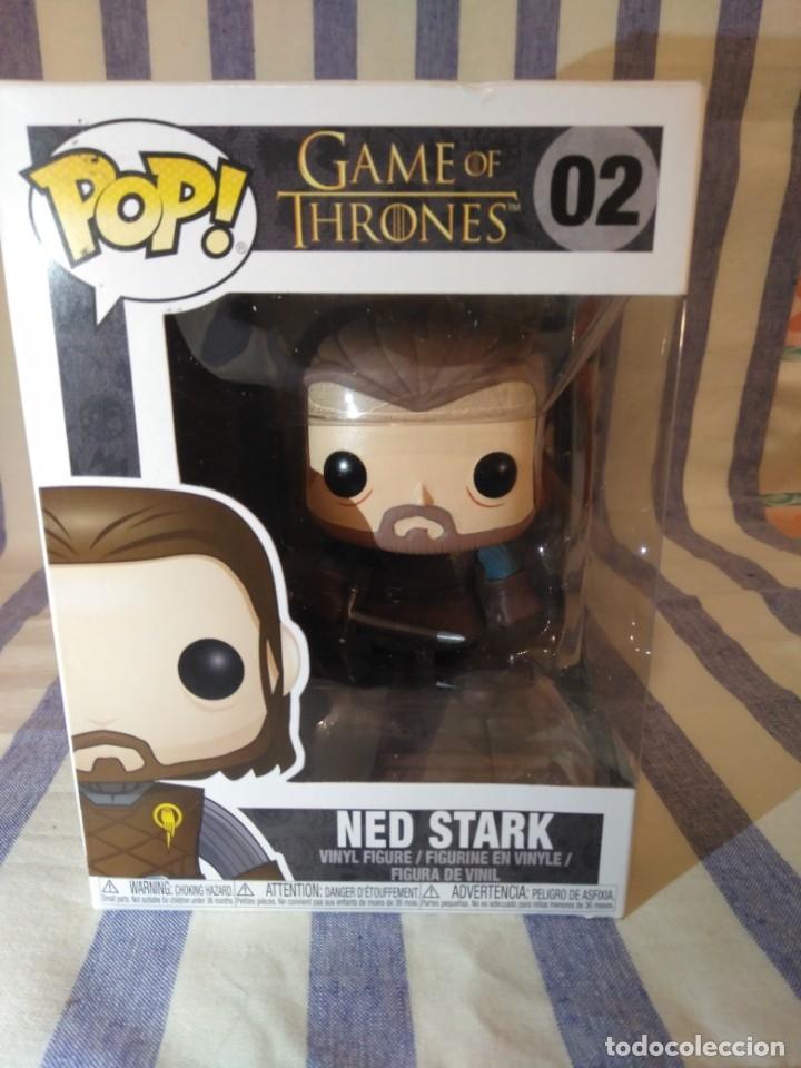 Game of Thrones Pop Vinyl-Ned Stark 02