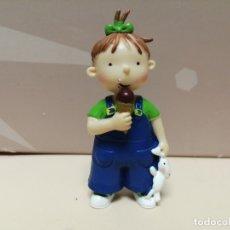 Figuras de Goma y PVC: FIGURA PVC LAS TRES BESSONES MELLIZAS YOLANDA CROMOSOMA 2006. Lote 177529509
