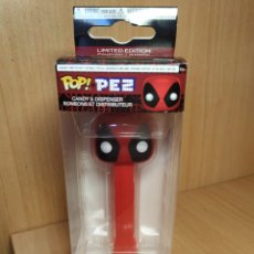Dispensador Pez: FUNKO POP PEZ DISPENSADOR DEADPOOL MARVEL CANDY MADE IN USA LIMITED EDITION. Lote 177639223