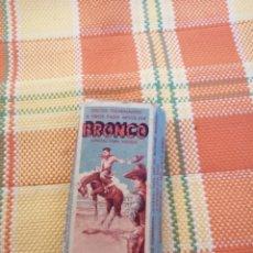 Figuras de Goma y PVC: ANTIGUA CAJA DE DISCOS FULMINANTES BRONCO. Lote 177641525