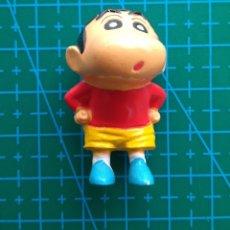 Figuras Kinder: FIGURA SHIN CHAN CON LOS PANTALONES BAJADOS ENSEÑANDO EL CULO. Lote 177646513