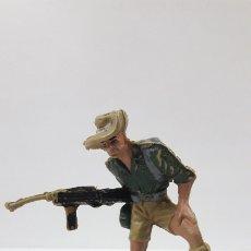 Figuras de Goma y PVC: SOLDADO AUSTRALIANO . REALIZADO POR PECH . AÑOS 60. Lote 177658555
