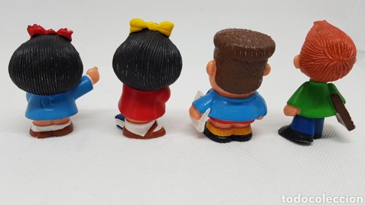 Figuras de Goma y PVC: 4 FIGURAS MAFALDA QUINO PORTUGAL - Foto 2 - 220299423
