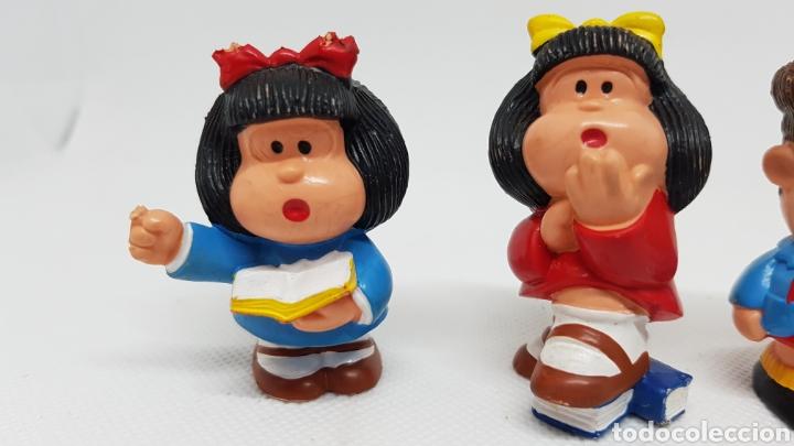 Figuras de Goma y PVC: 4 FIGURAS MAFALDA QUINO PORTUGAL - Foto 3 - 220299423